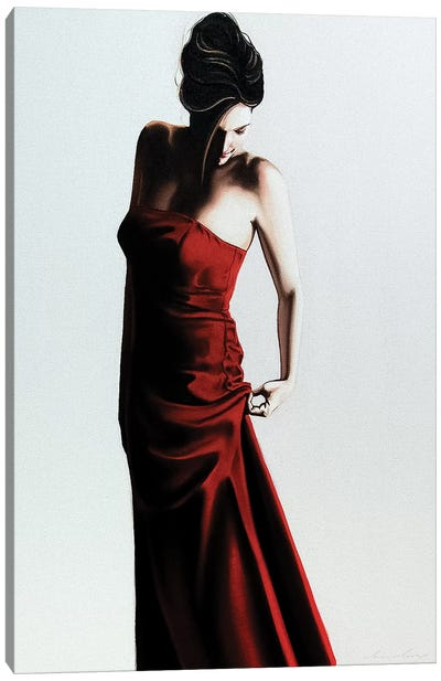 Red Dress Canvas Art Print