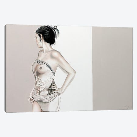 The Light She Brings Canvas Print #DDC26} by Drew Darcy Canvas Wall Art