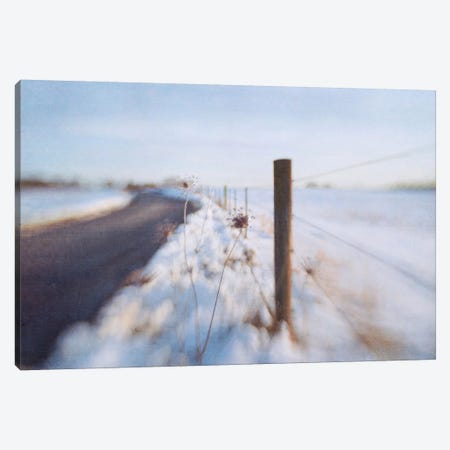 Walking On The Edge Of Winter Canvas Print #DDH5} by Dawn D. Hanna Canvas Print