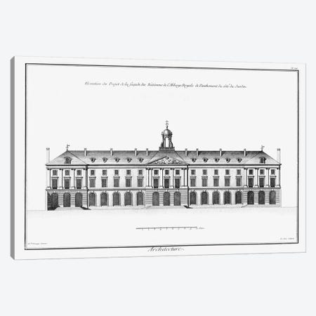 Architectural Elevation II Canvas Print #DDI9} by Denis Diderot Canvas Print