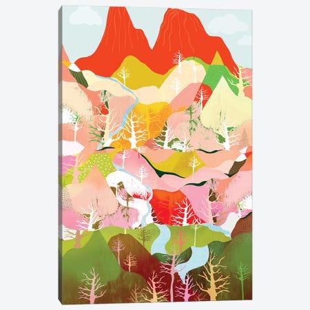 Flow Canvas Print #DDL22} by Danse De Lune Canvas Art