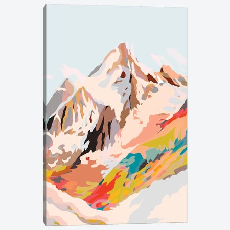 Glass Mountains Canvas Print #DDL27} by Danse De Lune Art Print