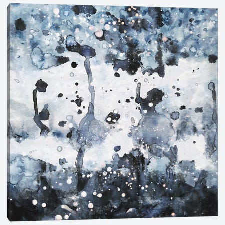 Indigo Canvas Print #DDL35} by Danse De Lune Canvas Art