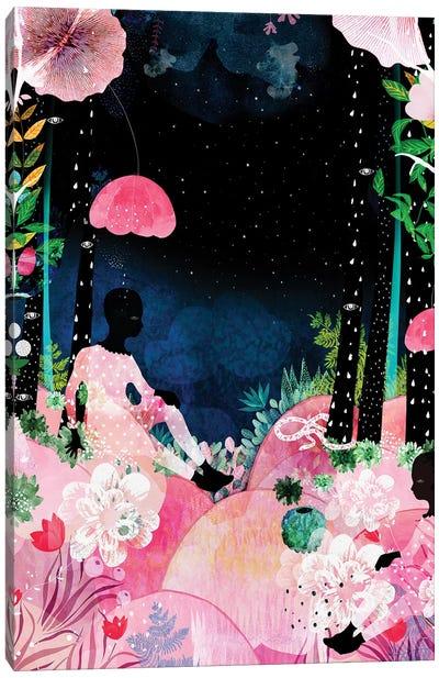 Island Night Canvas Art Print