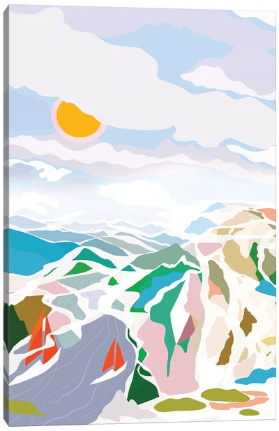 Lakeside Canvas Art Print