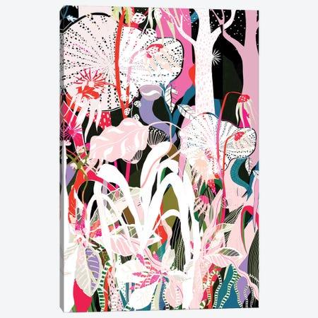 Psychadelic Forest Canvas Print #DDL50} by Danse De Lune Art Print