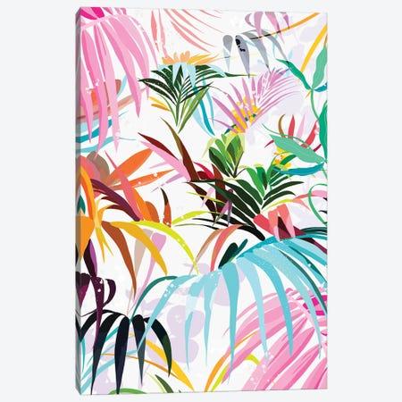 Rainbow Forest Canvas Print #DDL51} by Danse De Lune Art Print