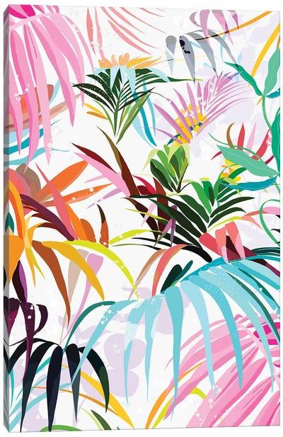 Rainbow Forest Canvas Art Print