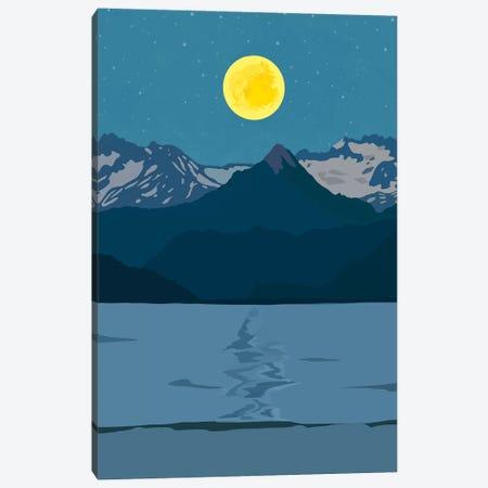 Tiger Mountain Canvas Print #DDL62} by Danse De Lune Canvas Wall Art