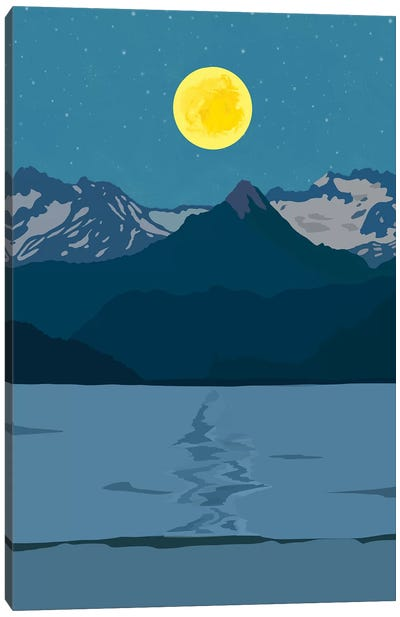 Tiger Mountain Canvas Art Print