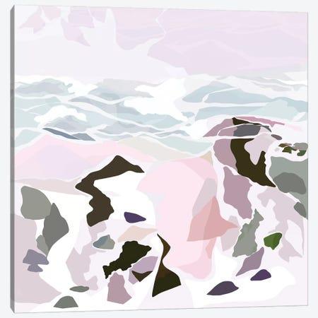Water's Edge I 3-Piece Canvas #DDL70} by Danse De Lune Canvas Print