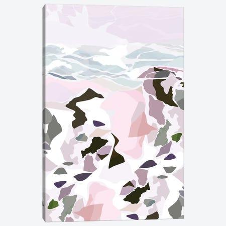 Water's Edge II 3-Piece Canvas #DDL71} by Danse De Lune Art Print