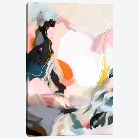 Apricot Dawn Canvas Print #DDL7} by Danse De Lune Canvas Art Print