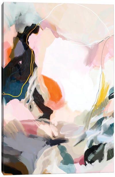 Apricot Dawn Canvas Art Print