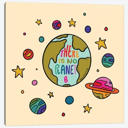 Planet B Canvas Print #DDM121} by Doodle By Meg Art Print