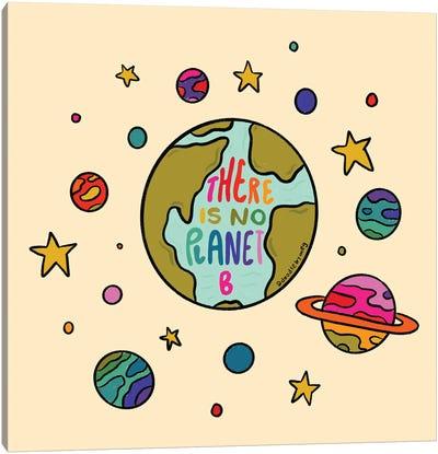 Planet B Canvas Art Print