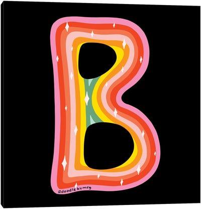 Rainbow B Canvas Art Print