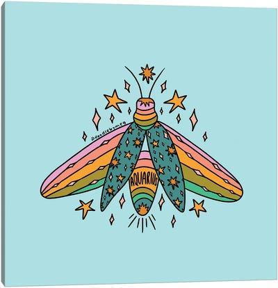 Aquarius Firefly Canvas Art Print