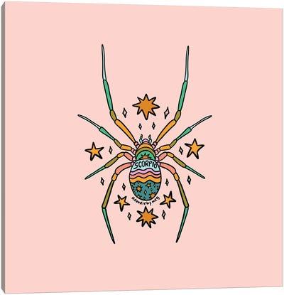 Scorpio Spider Canvas Art Print