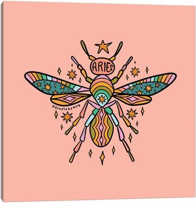 Aries Wasp Canvas Art Print