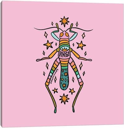 Virgo Grasshopper Canvas Art Print