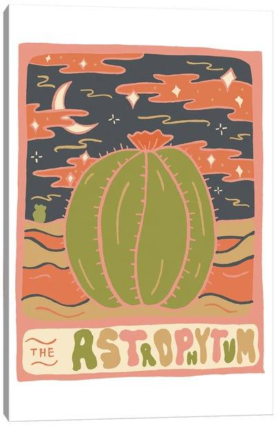 Cactus Tarot Cards- Astrophytum Canvas Art Print