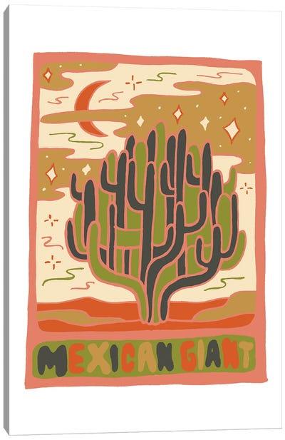 Cactus Tarot Cards- Mexican Giant Canvas Art Print