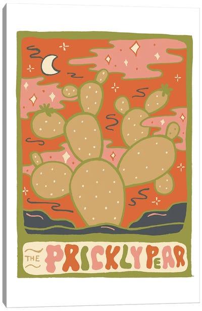 Cactus Tarot Cards- Prickly Pear Canvas Art Print