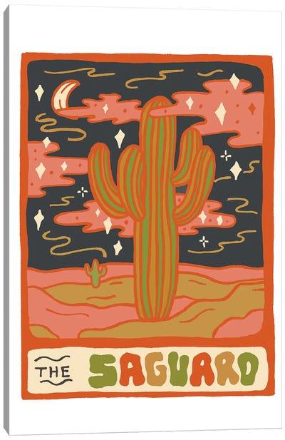 Cactus Tarot Cards- Saguaro Canvas Art Print