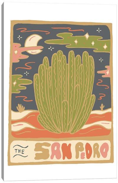 Cactus Tarot Cards- San Pedro Canvas Art Print