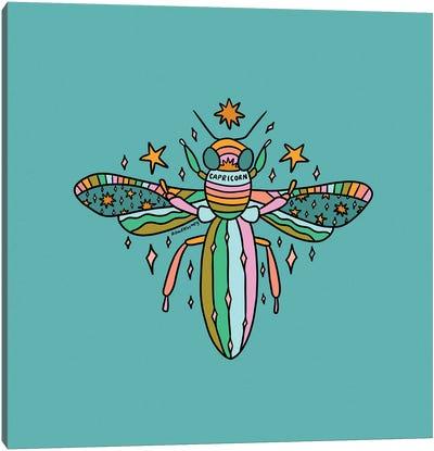 Capricorn Bee Canvas Art Print