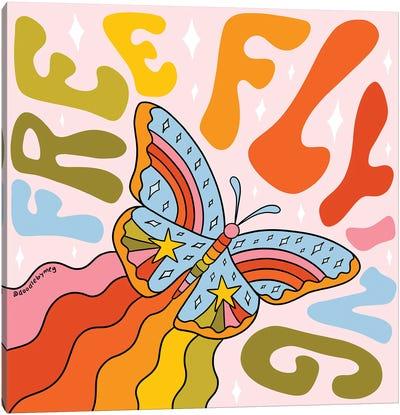 Free Flying Canvas Art Print
