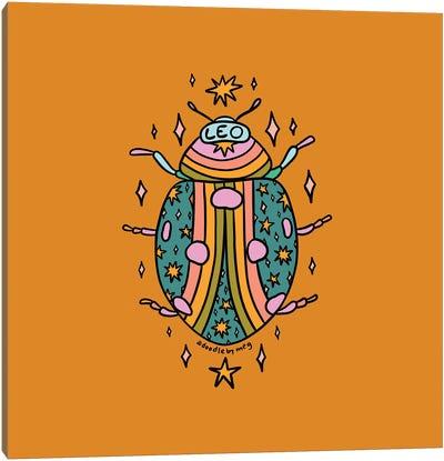 Leo Ladybug Canvas Art Print
