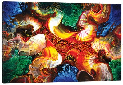 Abstract 1998 II Canvas Art Print