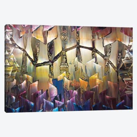 Geometric 1989 I 3-Piece Canvas #DDO29} by David Dolan Canvas Print