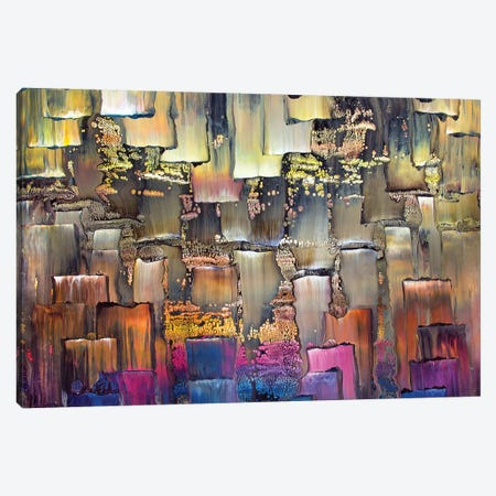 Geometric 1990 I Canvas Print #DDO30} by David Dolan Canvas Art