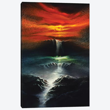 Landscape 1996 I 3-Piece Canvas #DDO38} by David Dolan Canvas Art