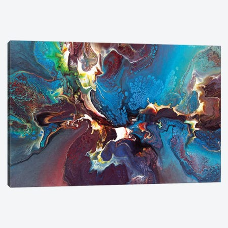 Abstract 1994 I Canvas Print #DDO5} by David Dolan Canvas Art