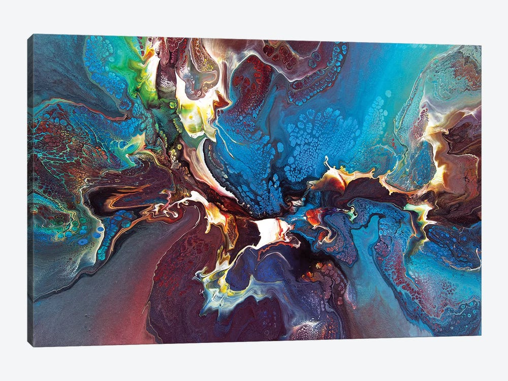 Abstract 1994 I by David Dolan 1-piece Canvas Artwork