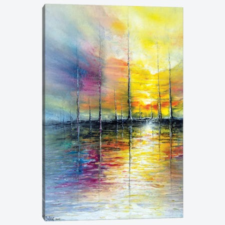 Landscape 2004 IV 3-Piece Canvas #DDO61} by David Dolan Canvas Art Print