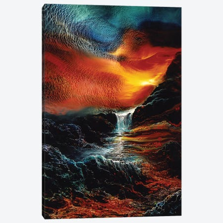 Landscape 1997 #2 Canvas Print #DDO69} by David Dolan Canvas Art Print