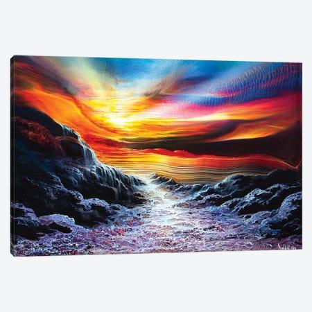 Landscape 1999 #6 3-Piece Canvas #DDO70} by David Dolan Canvas Wall Art