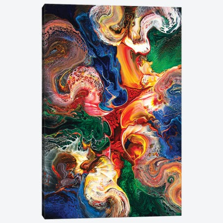 Abstract 1995 I Canvas Print #DDO8} by David Dolan Art Print