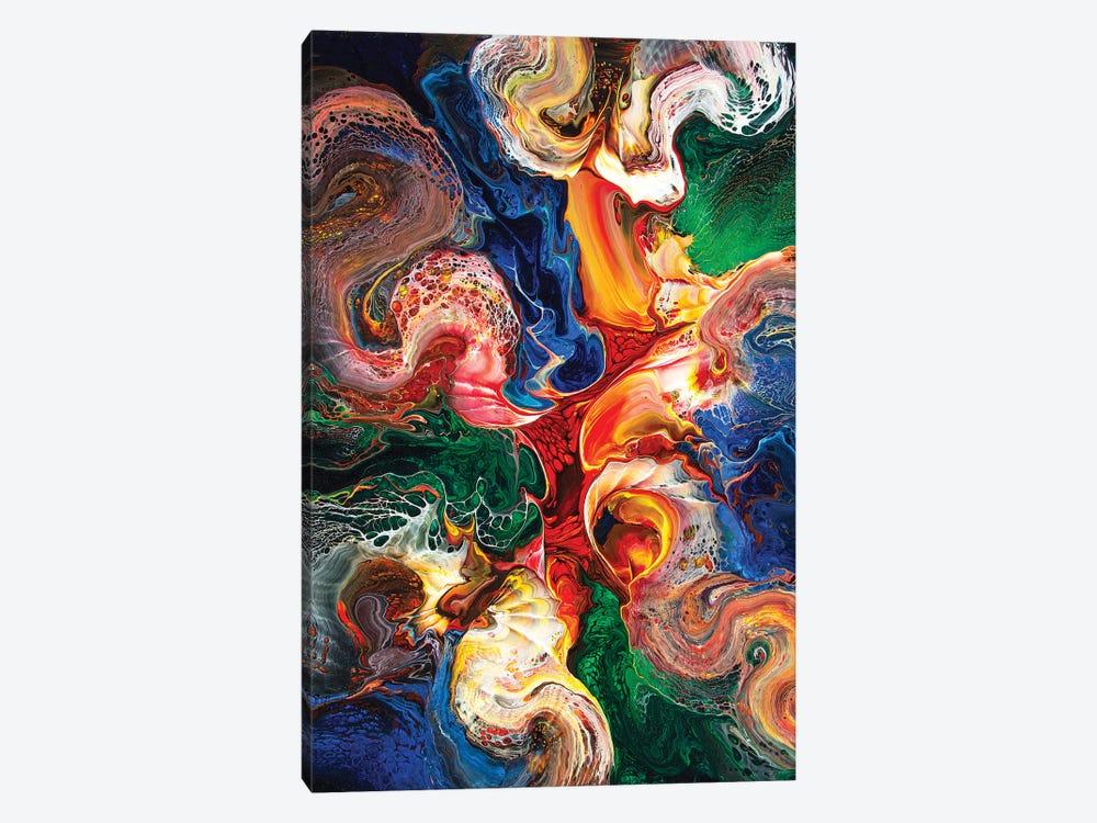 Abstract 1995 I by David Dolan 1-piece Canvas Art Print
