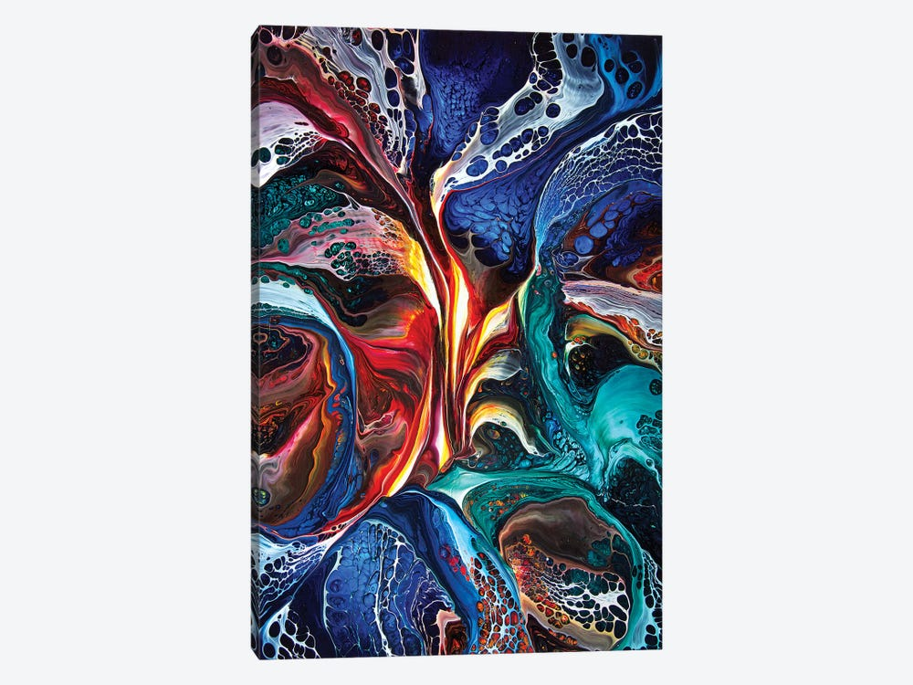 Abstract 1995 II by David Dolan 1-piece Canvas Artwork