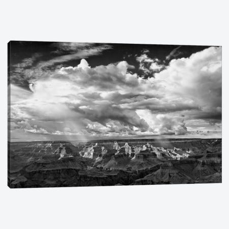 B&W Desert View IV 3-Piece Canvas #DDR10} by David Drost Canvas Print
