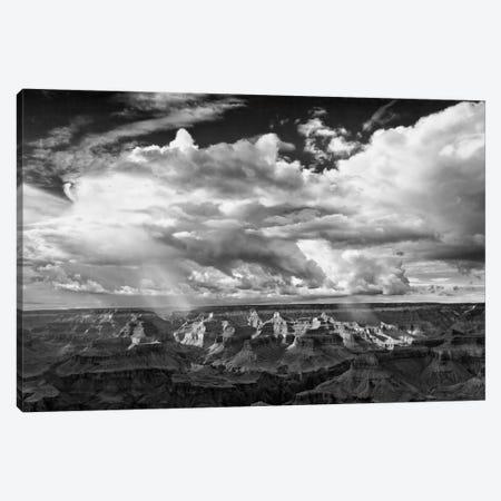 B&W Desert View IV Canvas Print #DDR10} by David Drost Canvas Print