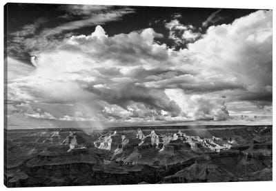 B&W Desert View IV Canvas Art Print