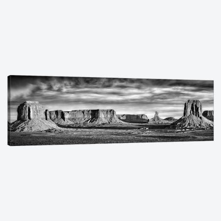 B&W Desert View VII 3-Piece Canvas #DDR13} by David Drost Canvas Art Print