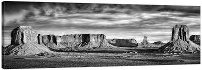 B&W Desert View VII Canvas Art Print
